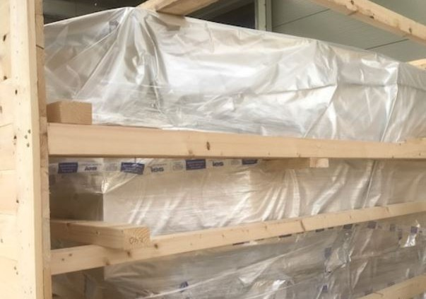 Export Packing - Skeletal Crate