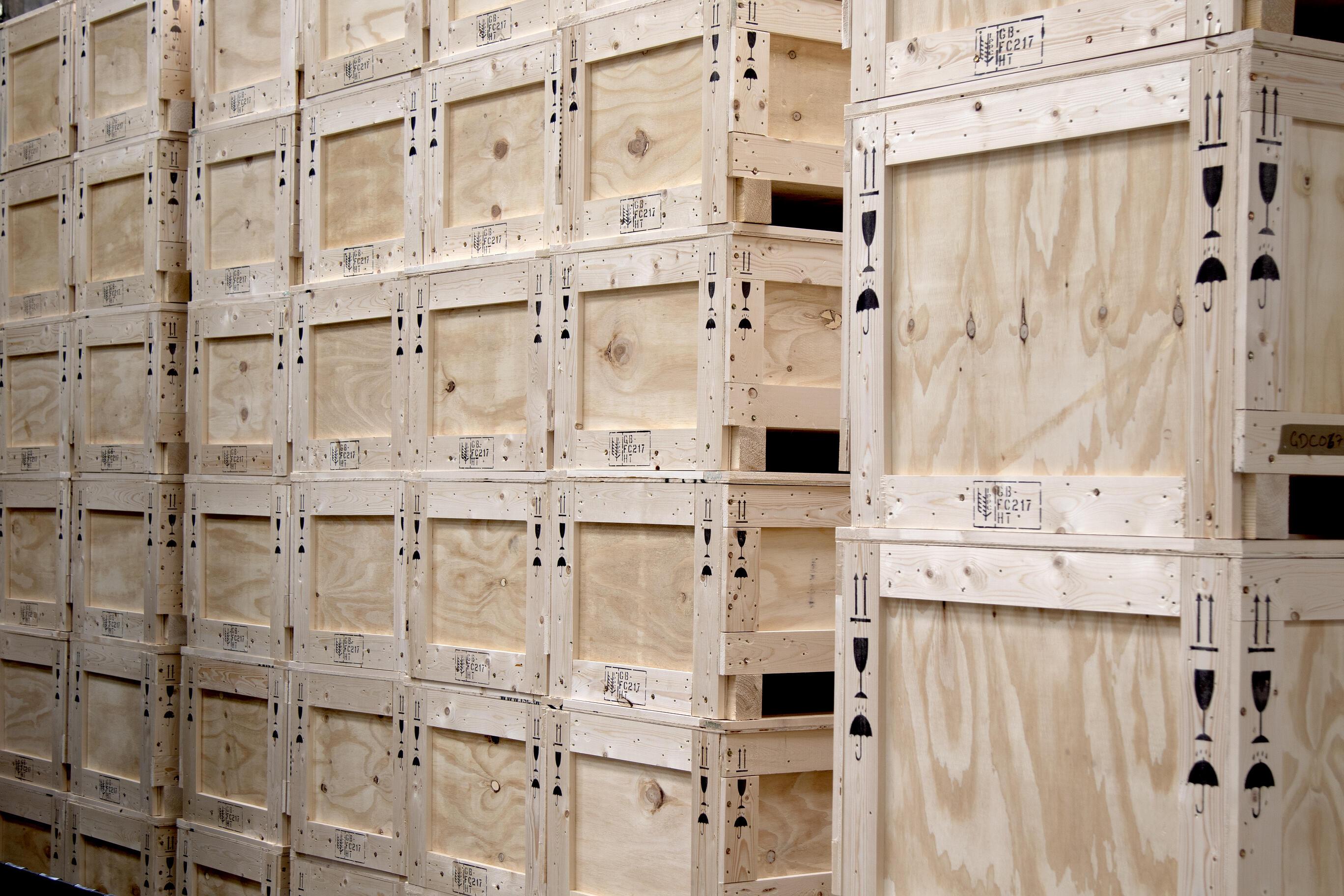 IES crate range