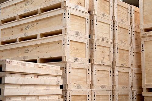 IES Wooden Crate Range