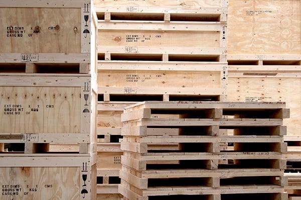 IES custom made crates