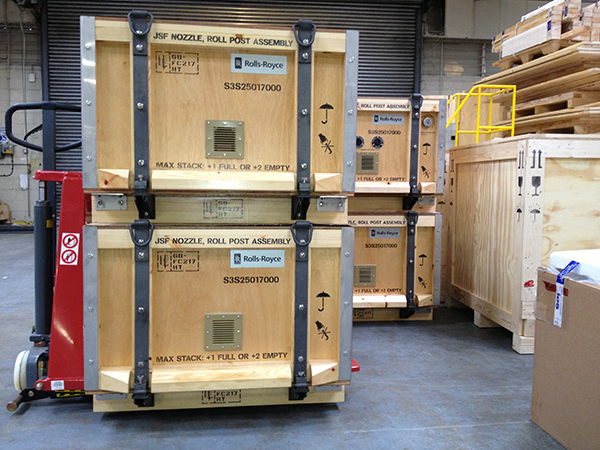 MPAS certified packing by IES