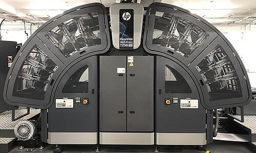 HP T250 Print Press Installation