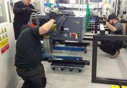 Complex Laser System installation at Nottingham Trent University