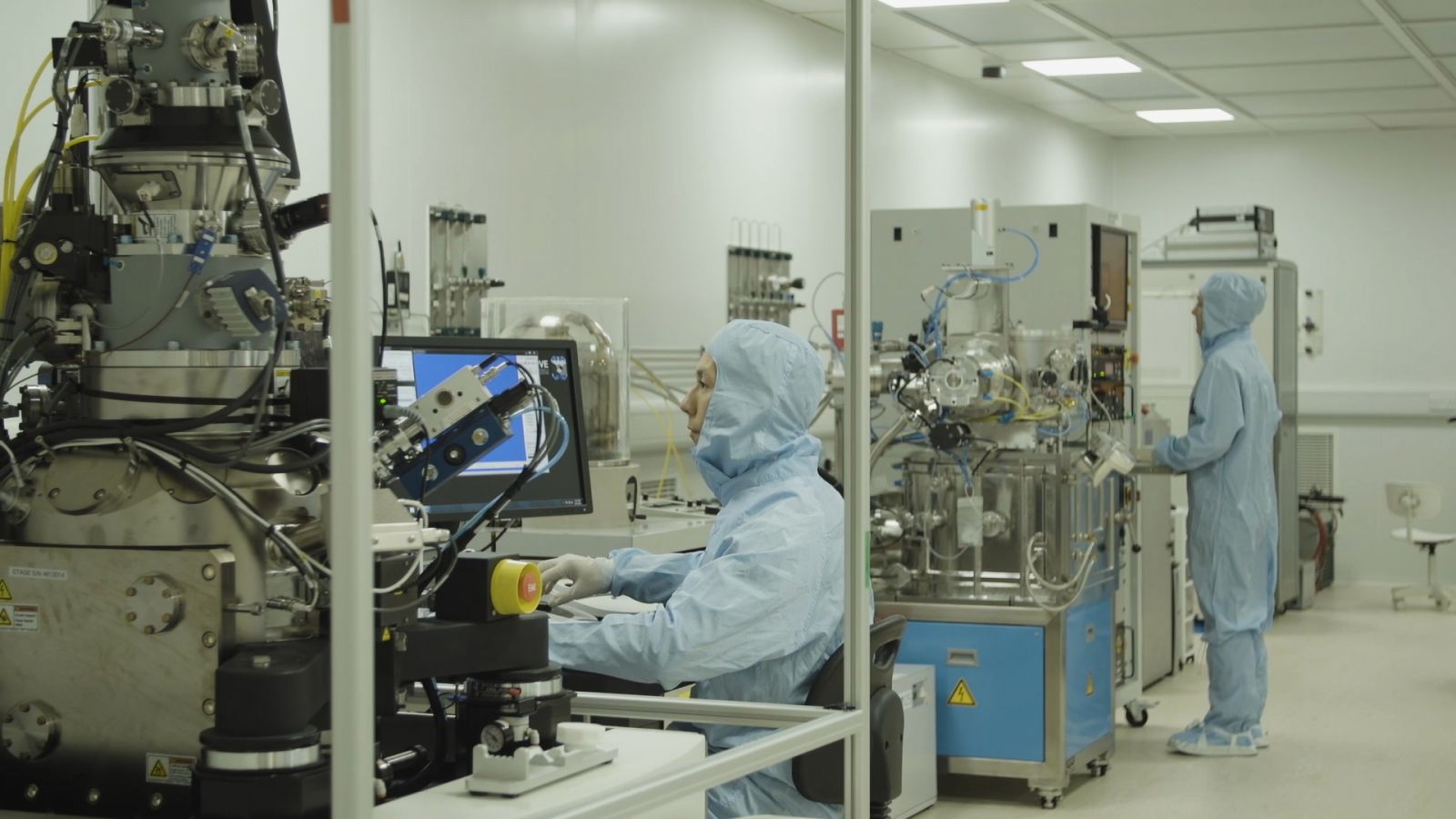 Relocation and installation of high value research equipment