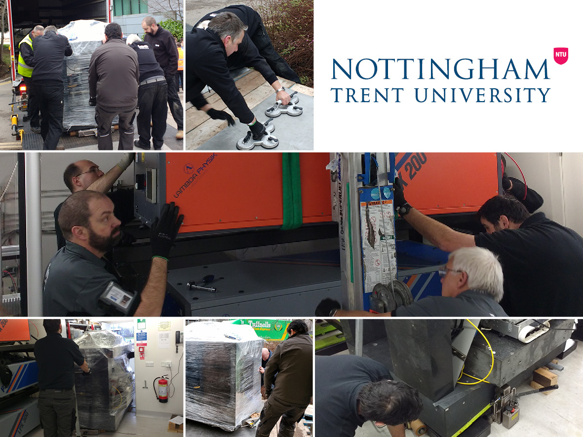 NTU Laser Installation